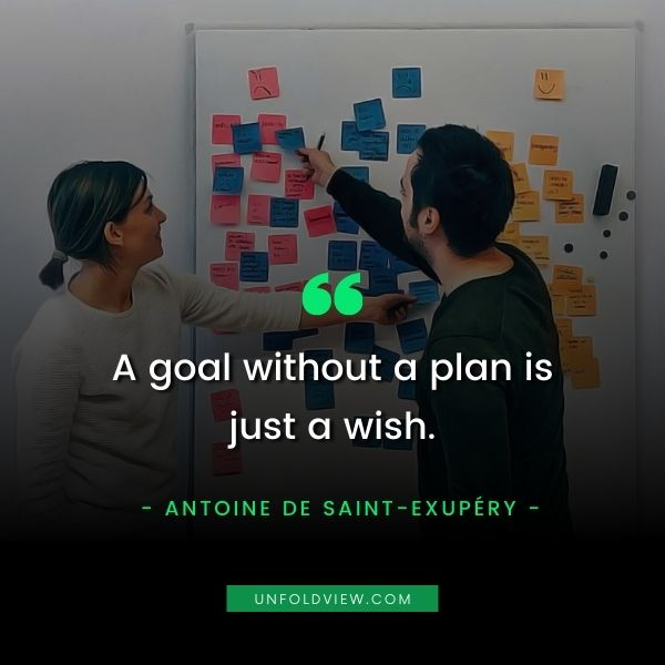 plan your goal quotes