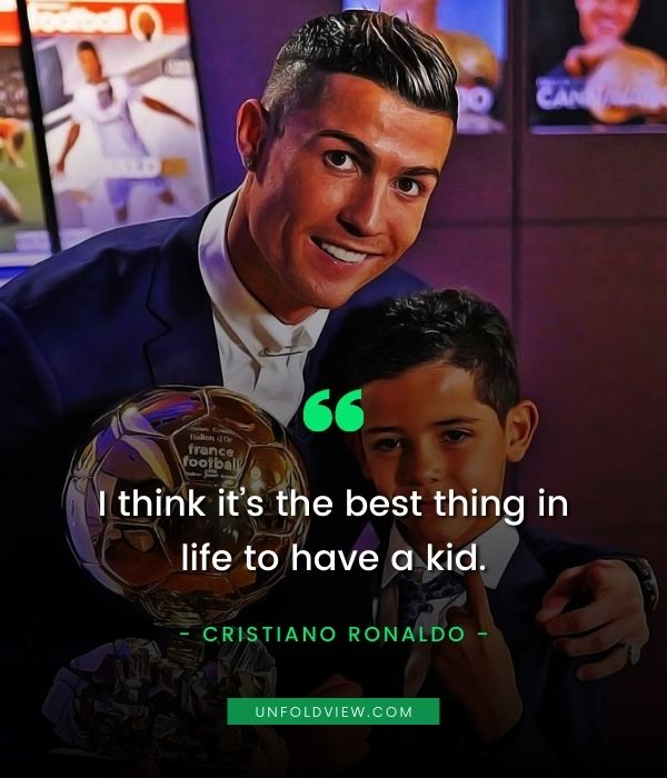 cristiano ronaldo quotes best thing in life