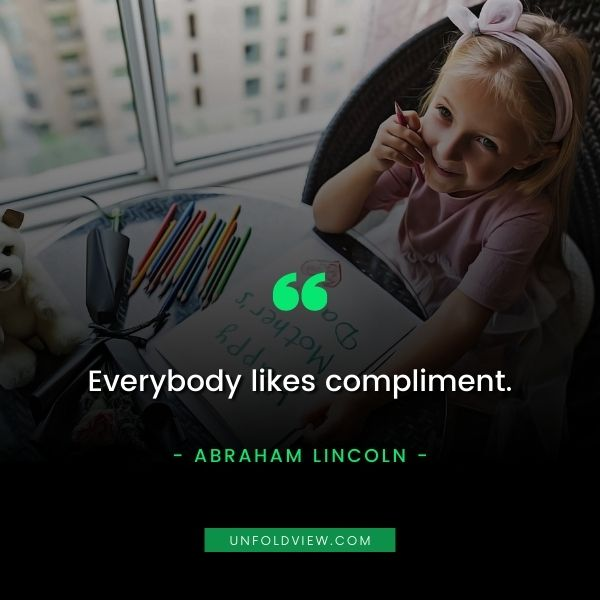 compliment quotes abraham lincoln
