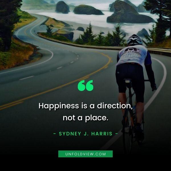 happiness quotes Sydney J. Harris