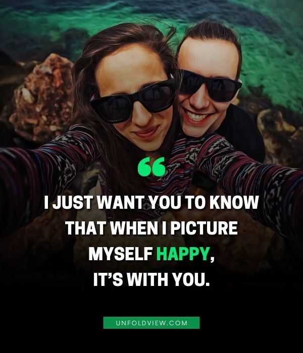 happy with you love quotes