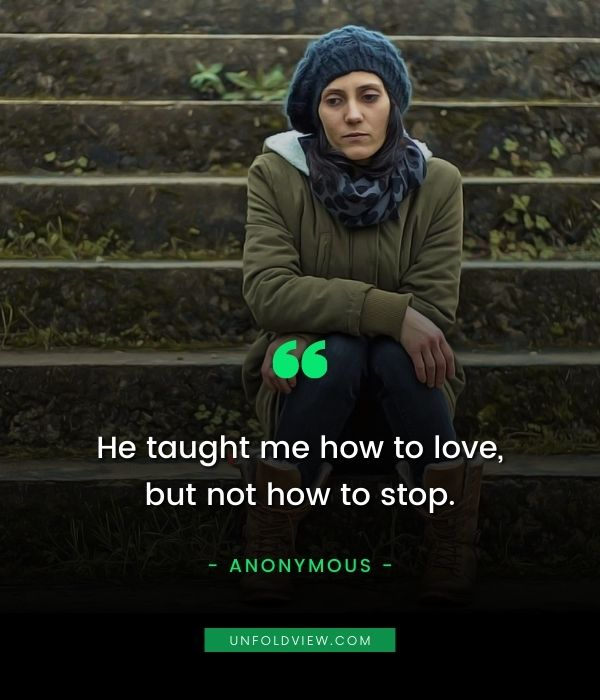how to stop love sad quotes