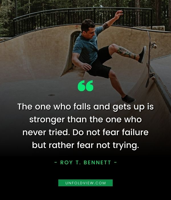 trying quotes roy t. bennett