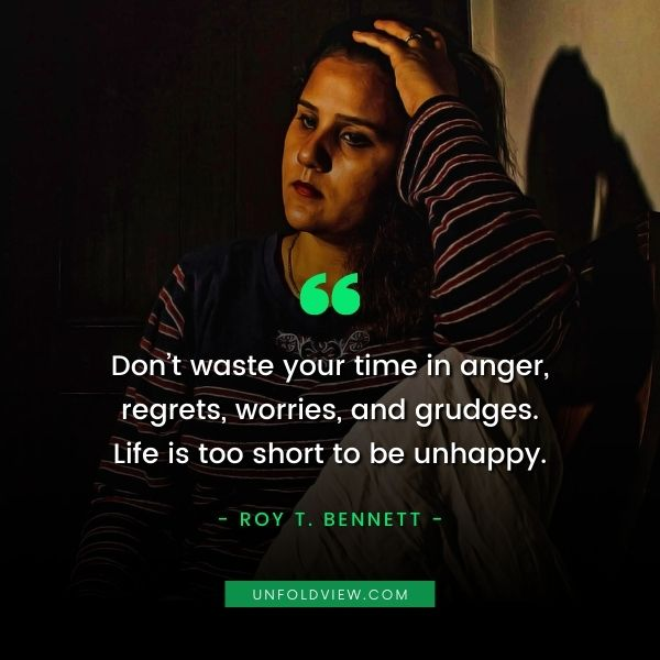 regret in love quotes Roy T. Bennett