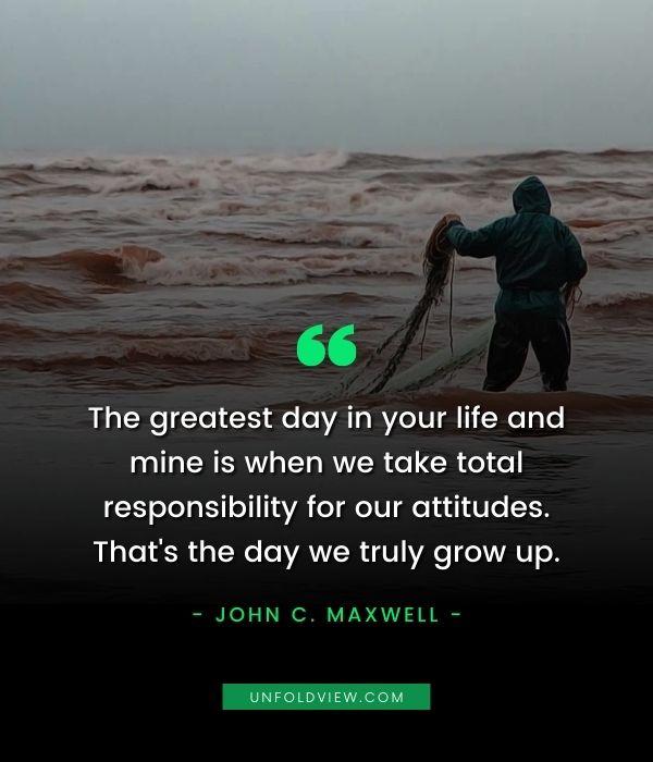 responsibility quotes John C. Maxwell