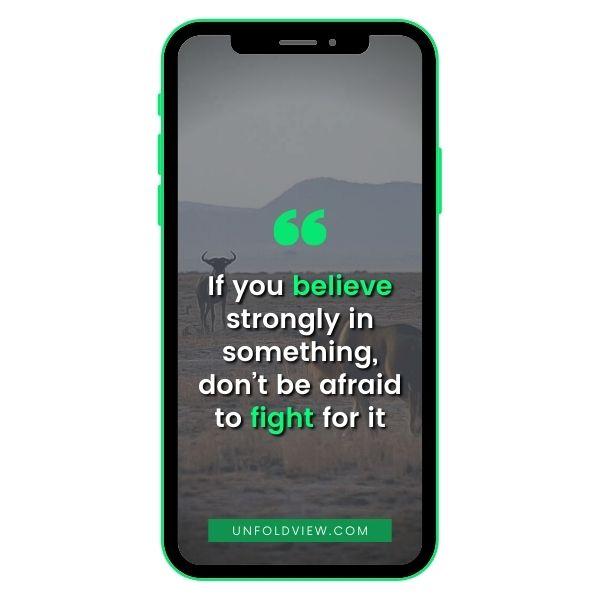 whatsapp status quotes believe
