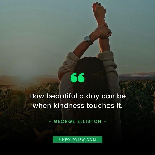 kindness quotes George Elliston