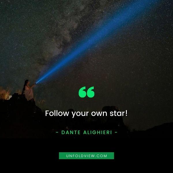 self reward quotes Dante Alighieri